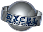 Excel Manufacturing Inc. Precision Machining header logo